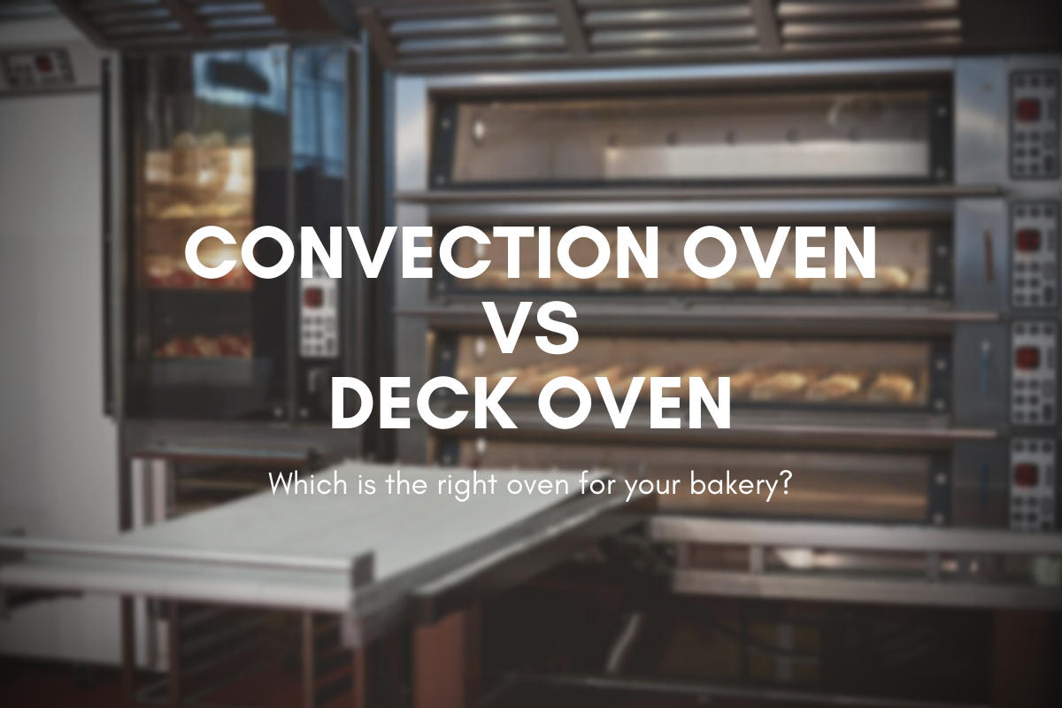 Deck Oven vs Convection Oven   Which is the right oven for your bakery?