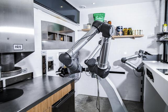 Pizzas by Robots