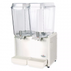 CRATHCO Classic Double Bowl Refrigerated Beverage Dispenser 2x18.9L D255-4