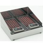 ROLLER GRILL Double Electric Lava Rock Grill 140D