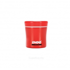 ENDO 400ML Double S/Steel Food Jar CX-4002 (Tomato Red)