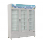 FRESH 3-Door Refrigerator Display - Chiller FDC-P1500WE-HA