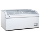 SNOW Curved Glass Display Freezer SD-700BY