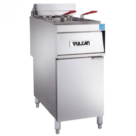 VULCANSolid State Analog Knob Control Fryer 1ER50A-2