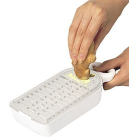 KAI Grater With Container DH-7069
