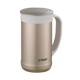 TIGER 0.5L Stainless Steel Desk Mug (Champagne Gold/ Clear Stainless) MCM-T050 (NN/ XC)