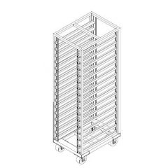SS MOBILE COOLING RACK