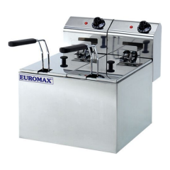 EUROMAX Fryer Double 5+5L 10351