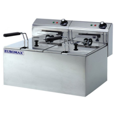 EUROMAX Fryer Double 8+8L 10370