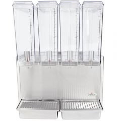 CRATHCO Classic Mini-Quad Refrigerated Beverage Dispenser E495-4