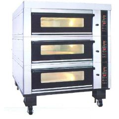 MB Electric Multideck MBE-203SE-Z Baking Oven 3 Decks 6 Trays