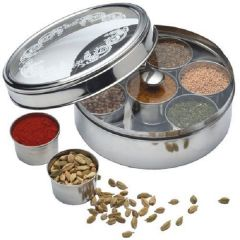 KITCHEN CRAFT World Of India Masala Dabba 17cm