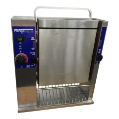PRINCE CASTLE 12 Sec Vertical Contact Bun Toaster with Wire Belt 297-SW12