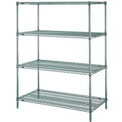 METRO SuperEracta Wire Shelving Rack Epoxy with Microban