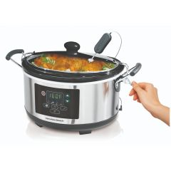 HAMILTON (household) 4.5 L Programmable Slow Cooker 33956-SAU