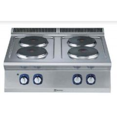 ELECTROLUX Modular 700XP - 4 Hot Plates Electric Boiling Top Range 371015