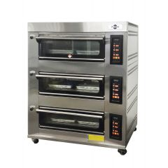 FRESH FOOD OVEN WITH PID CONTROL PANEL (GAS) YXY-60AI