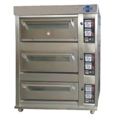 FRESH Food Oven Three Layer (Gas) YXY-60SS (S/Steel)