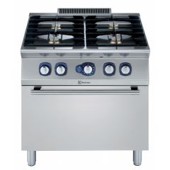 ELECTROLUX 4-Burner Gas Range on Gas Oven 800 MM E7GCGH4CG0 (371002)