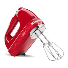 KITCHENAID Hand Mixer Limited Edition 7-Speed - Queens Of Heart (Passion Red) with Beater 5KHM7210HBSD