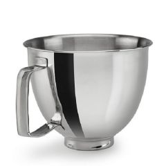 KITCHENAID (Accessory) Mixing Bowl 3.3L Stainless Steel Bowl With Handle for 5KSM3311 Mini Mixer 5KSM35SSFP