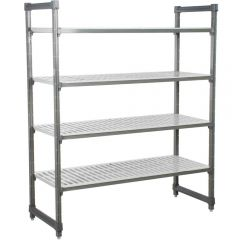 CAMBRO Camshelving Basic Series 4 Shelf Vented Units CBU183064V4