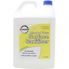 ECOGREEN Alcohol Free Surface Sanitizer 5L ECS-SS-1001/2