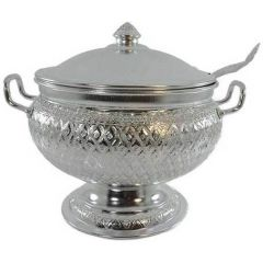 CC Aluminium Rice Pot With Ladle  QGKPPLF