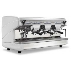 NUOVA SIMONELLI Appia II V 3GR-Raised (White) Volumetric Coffee Machine NS-APPIA II 3GR