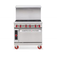 AMERICAN RANGE 6 Open Burner with Oven AR-6