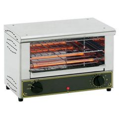 ROLLER GRILL Single Level Electric Snack Toaster BAR-1000