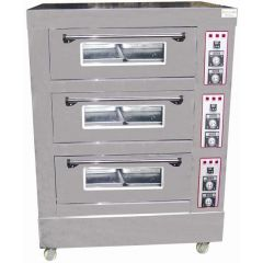 Golden Bull S/S Infrared Electric Oven 3 Layers 6 Dishes (All digital temperature) BYDFL-36 S/S