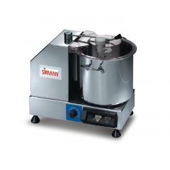 SIRMAN 5.3L Bowl Cutter with Variable Speed C6 V.V.