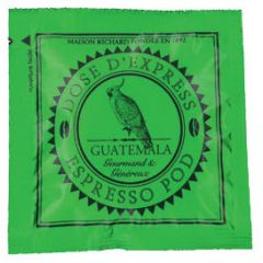 Cafes Richard Espresso Pods GUATEMALA  - Fairtrade (Box of 25 pods)