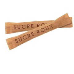Cafes Richard Sugar GRANULATED BROWN SUGAR STICKS (Cane)