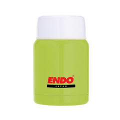 ENDO 350ML Double S/Steel Food Jar CX-4001 (Lime Green)