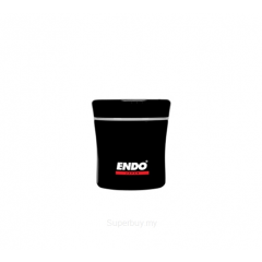 ENDO 400ML Double S/Steel Food Jar CX-4002 (Stark Black)