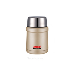 ENDO 450ML Double S/Steel Food Jar CX-4007 (Champagne Gold)