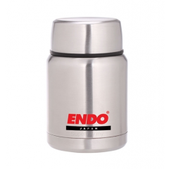 ENDO 350ML Double S/Steel Food Jar CX-4001 (Pure Stainless)