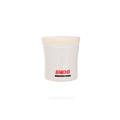 ENDO 400ML Double S/Steel Food Jar CX-4002 (Vanilla White)