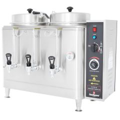 CECILWARE Twin 3 Gallon Automatic Coffee Urns (415V 3PH) CL100N