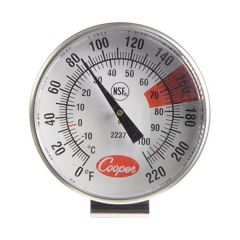 Cooper Atkins 2237-04-8 1.75″ Dial Espresso and Milk Frothing Thermometer