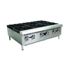 CHEFONIC 6 Open Burner Counter Top Range WJRH36