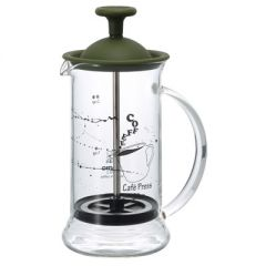 HARIO Cafe Press Slim S / Olive Green (1 - 2 Cups / 240ML) CPSS-OG