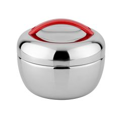 "ENDO 1L ""Apple"" Stainless Steel Food Jar  CX-5006 (Apple Red)"