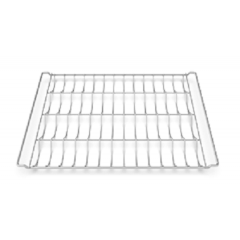 UNOX GRID 470x330 4 CANALS CHROMIUM-PLATED TRAY GRP310