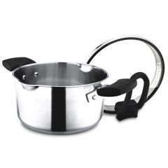 ENDO 20cm Stainless Steel Saucepan With Pouring Spouts E-SP20 (P)