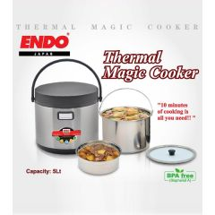 ENDO 5LT Thermal Magic Cooker New E-TMC 5-N