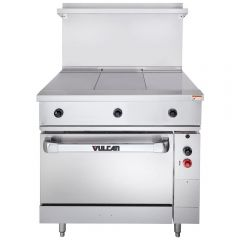 VULCAN Endurance Series Electric Range with 3 Hot Tops and Oven EV36S-3HT480 (480V)