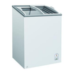 ABLE WELL Chest Freezer - Curved Glass Lid F200 OCG